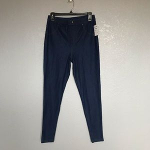 NWT Nordstrom High Waisted Blue Jegging sz M